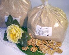 Walnusskerne Mehl (Walnussmehl), teilentölt, natur, kontrolliert biologisch, Rohkost Qualität